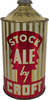 croft stock ale quart