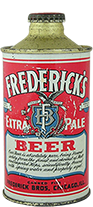 fredericks extra pale beer