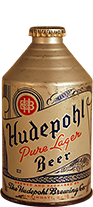 hudepohl pure lager blue