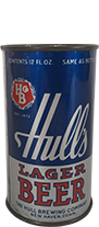 hulls lager beer can