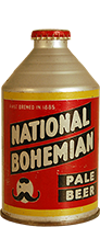national bohemian pale beer dull
