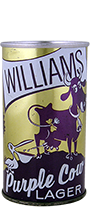 williams purple cow lager