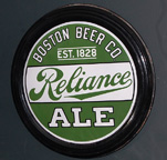 Boston Beer Co. Reliance Ale Sign
