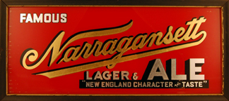Narragansett Beer Signs
