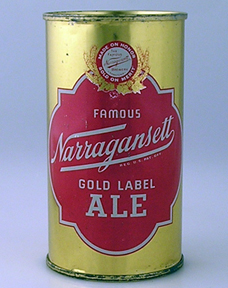 Narragansett Gold Label Ale Can