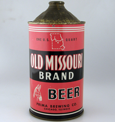 Old Missouri Quart Cone Top