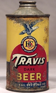 Travis Cone Top Beer Can