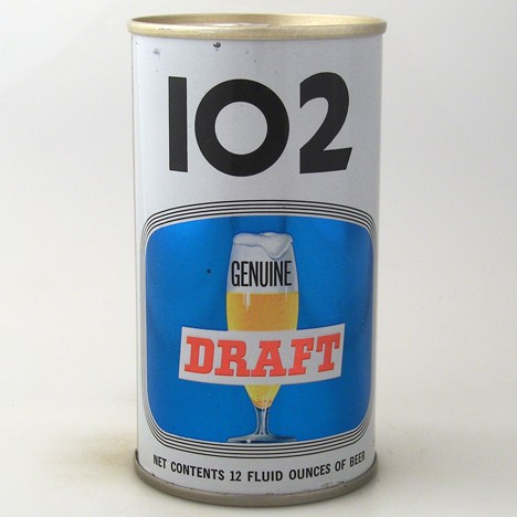 102 Genuine Draft Beer 104-24 Beer