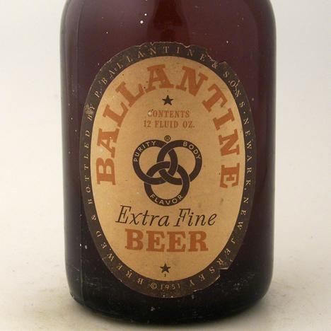 Ballantine Extra Fine Beer Steinie At Breweriana Com