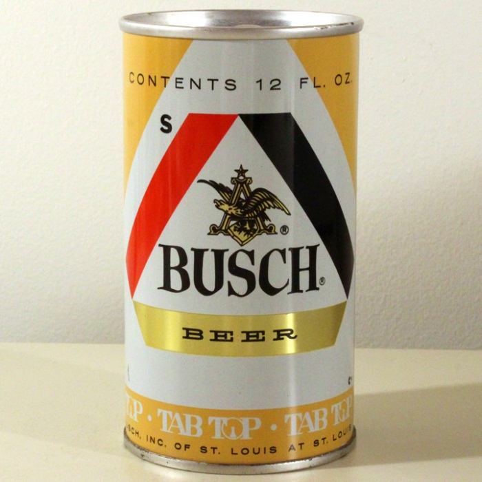 Busch Beer (Test Can) 229-09 Beer