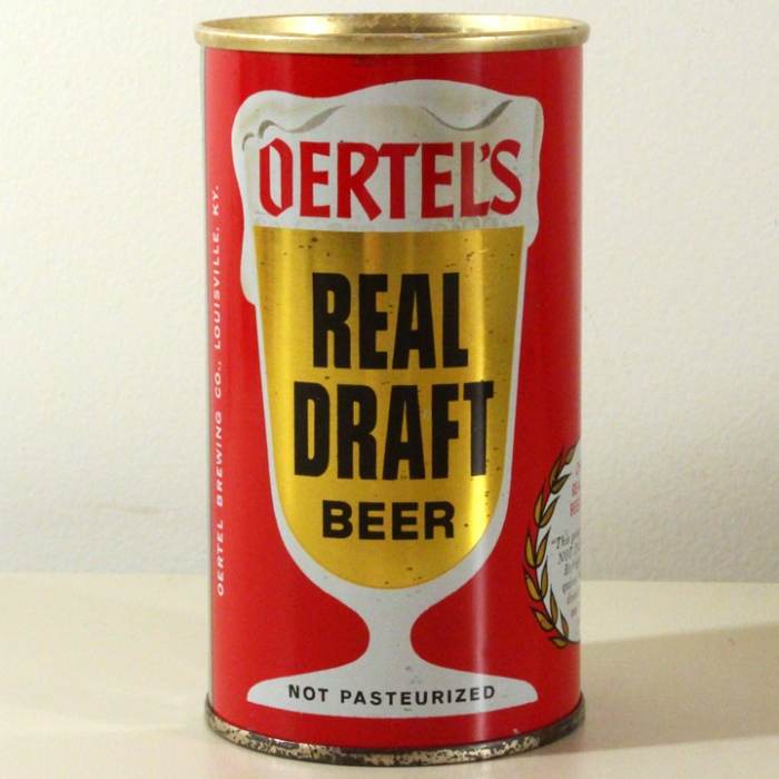 Oertel's Real Draft Beer 099-05 Beer