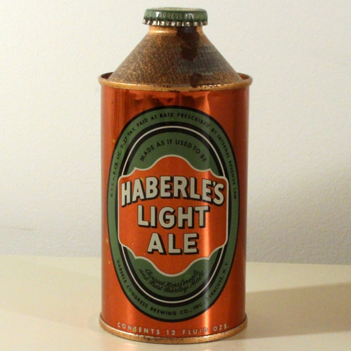 Haberle's Light Ale 168-12 Beer