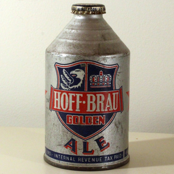 Hoff-Brau Golden Ale 195-17 Beer