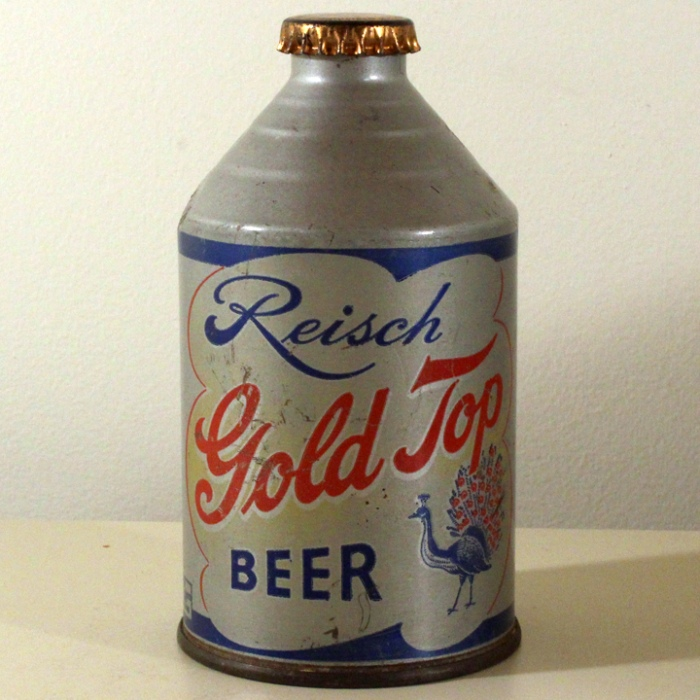 Reisch Gold Top Beer 198-18 Beer