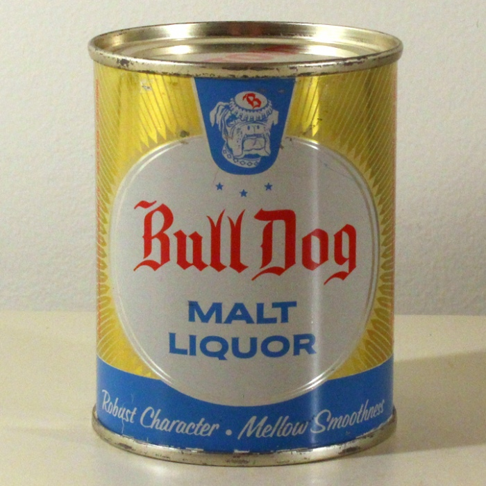 Bull Dog Malt Liquor 239-09 Beer