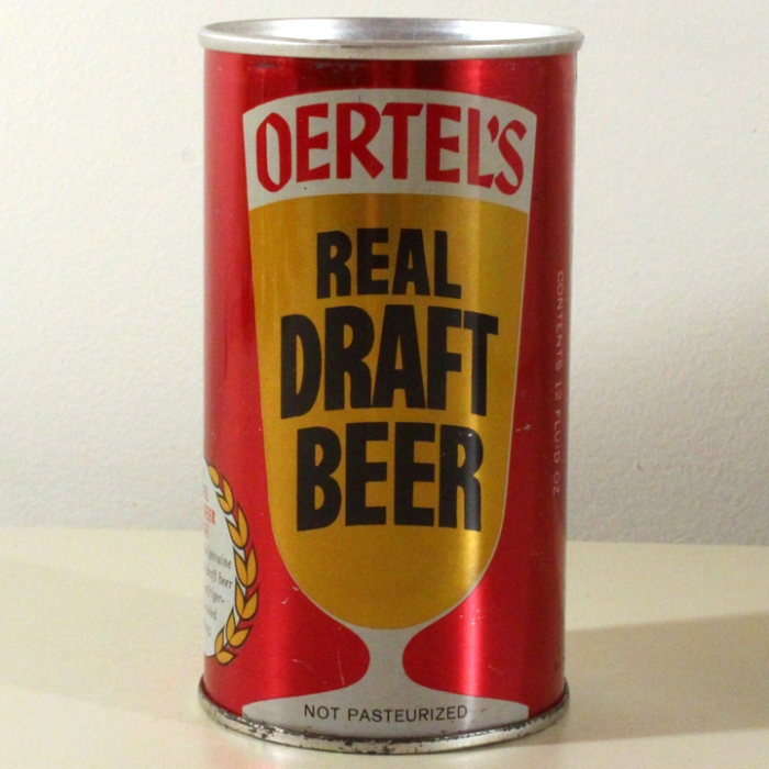 Oertel's Real Draft Beer 099-02 Beer