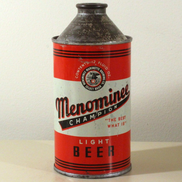 Menominee Champion Light Beer 173-18 Beer