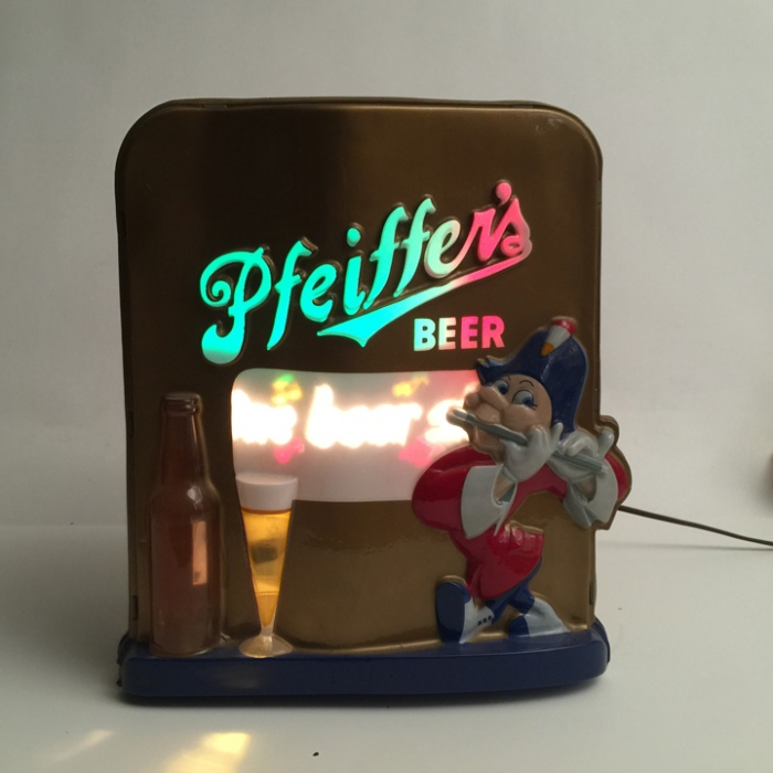 Pfeiffer Beer Spinner Lamp Beer