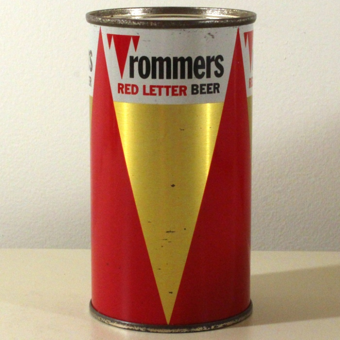 Trommers Red Letter Beer 139-39 Beer