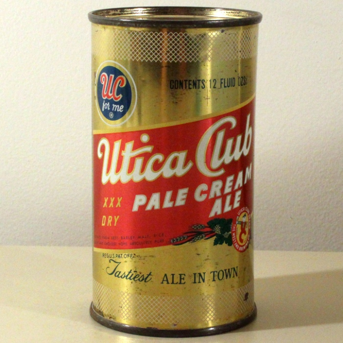 Utica Club XX Dry Pale Cream Ale 142-20 Beer