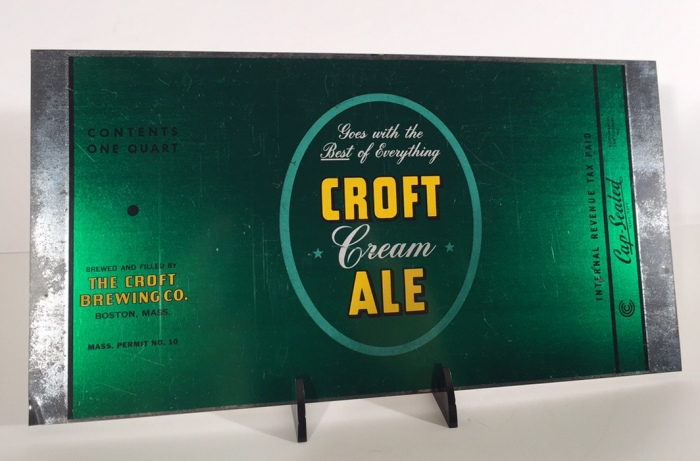 Croft Cream Ale 206-06 Beer