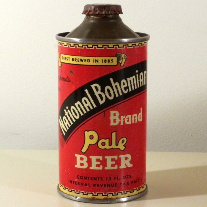 National Bohemian Brand Pale Beer 175-04 Beer