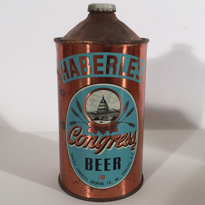 Haberle Congress Beer 211-13 Beer