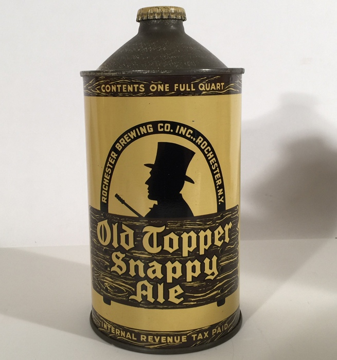 Old Topper Snappy Ale 216-10 Beer