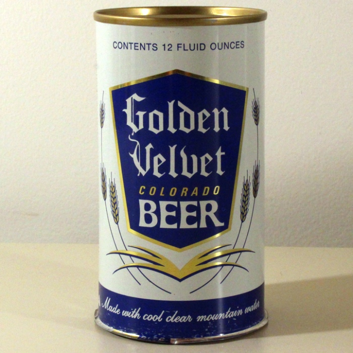 Golden Velvet Colorado Beer 073-36 Beer