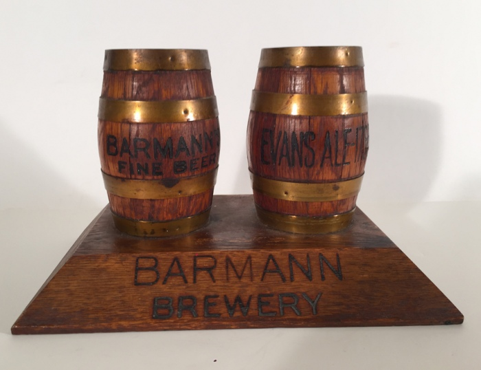 Barmann Brewery Barrels Frother Holder Beer