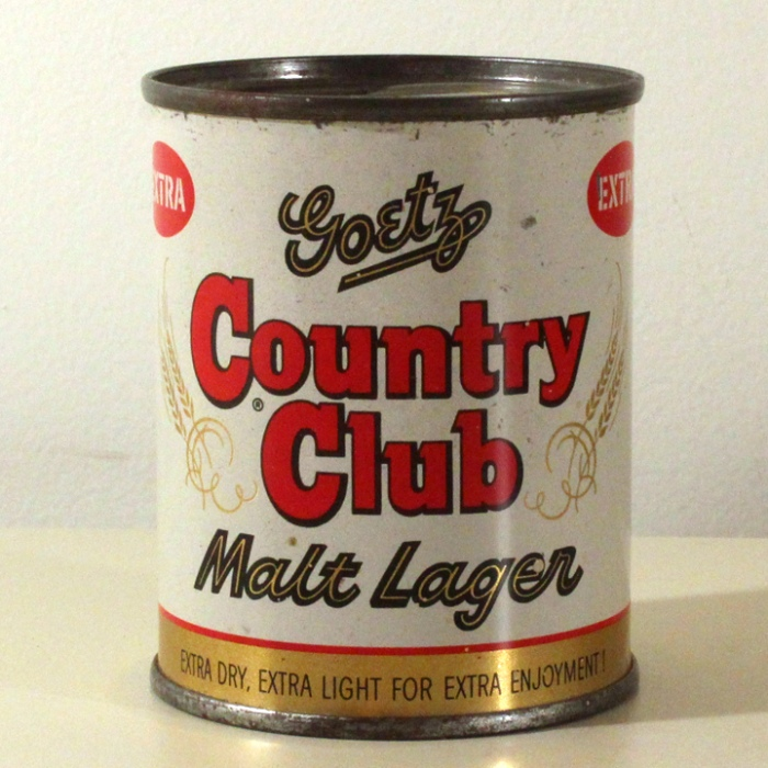 Goetz Country Club Malt Lager 240-07 Beer