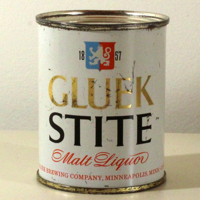 Gluek Stite Malt Liquor 241-08 Beer