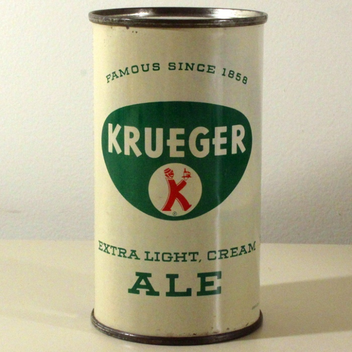 Krueger Extra Light, Cream Ale 089-38 Beer