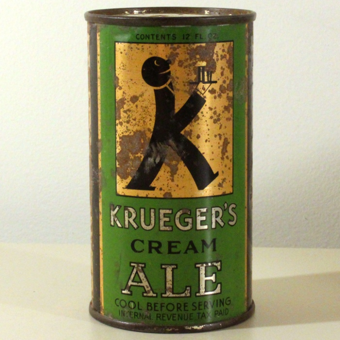 Krueger's Cream Ale 458 Beer