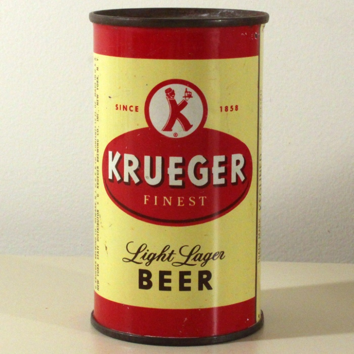 Krueger Finest Light Lager Beer 090-16 Beer