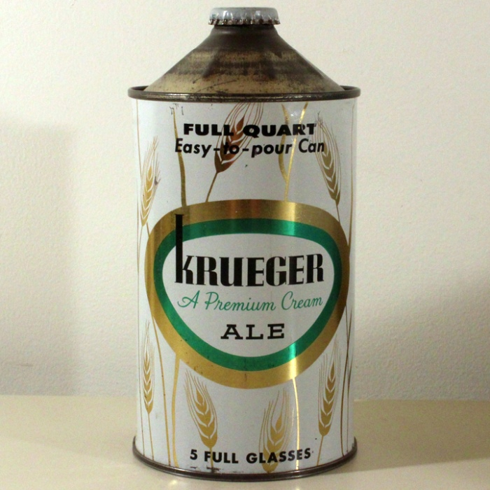 Krueger Real Premium Cream Ale 213-15 Beer