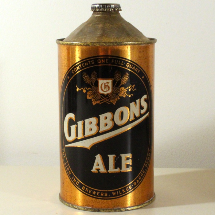 Gibbons Ale 210-01 Beer