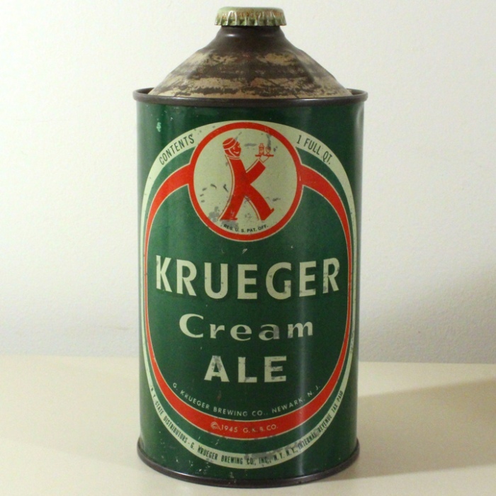 Krueger Cream Ale (Solid Green) L213-13 Beer