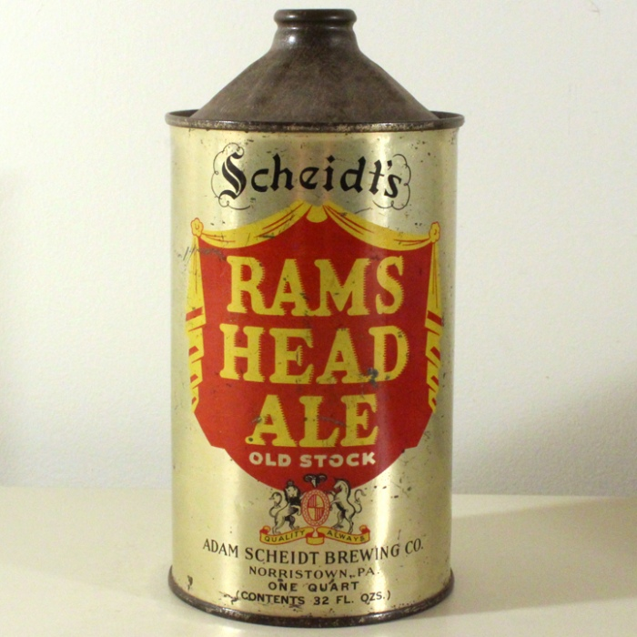Scheidt's Rams Head Ale 217-15 Beer