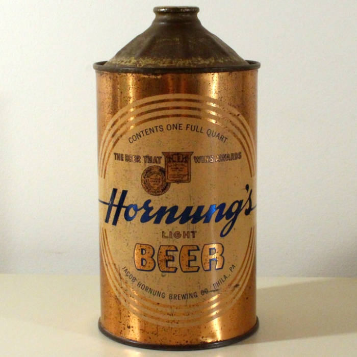 Hornung's Light Beer 212-07 Beer