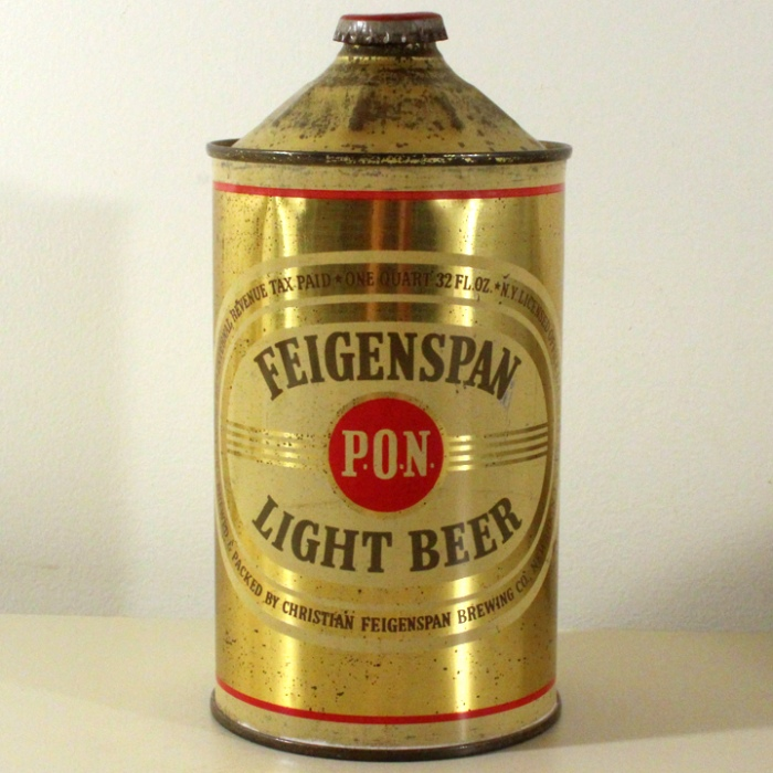 Feigenspan P.O.N. Light Beer 209-11 Beer