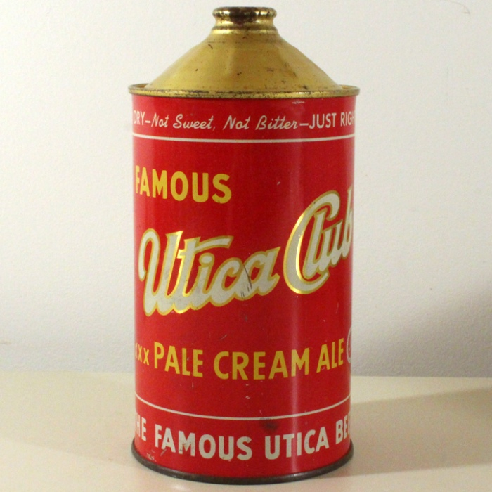 Utica Club XXX Pale Cream Ale 220-07 Beer