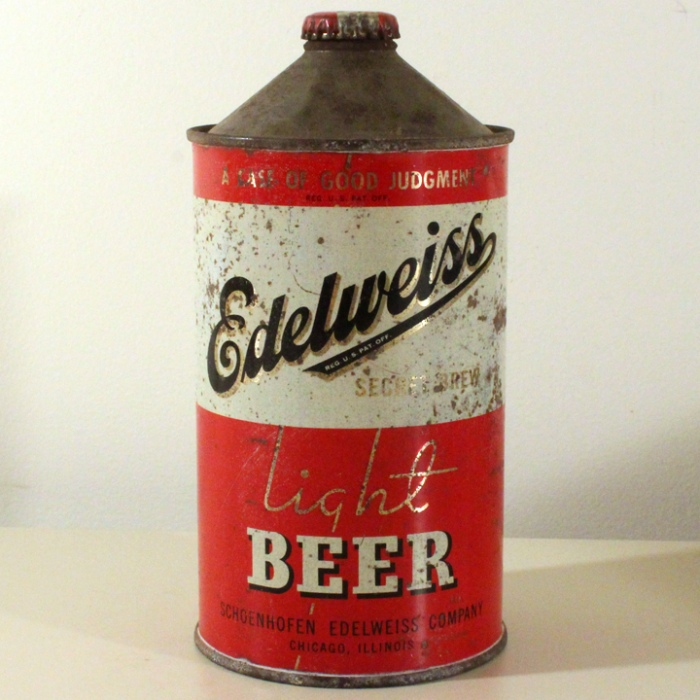 "Edelweiss Secret Brew Light Beer ""Whopper"" 207-11 Beer"