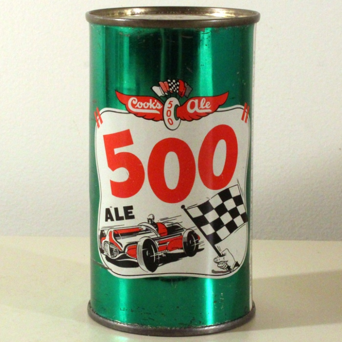 "Cook's ""500"" Ale 051-09 Beer"