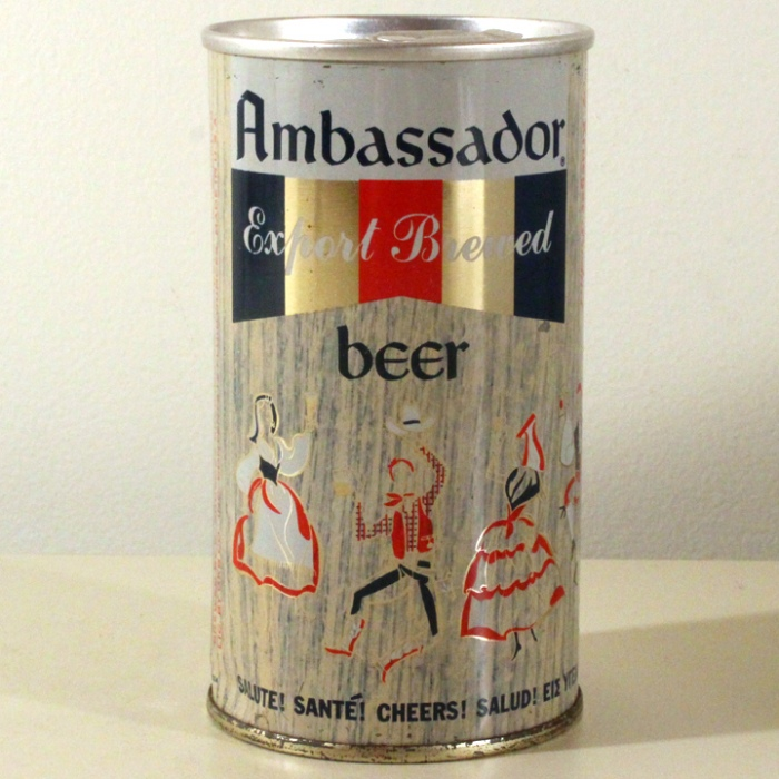 Ambassador Export Brewed Beer 033-13 Beer