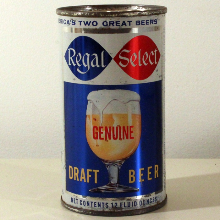 Regal Select Genuine Draft Beer 113-40 Beer