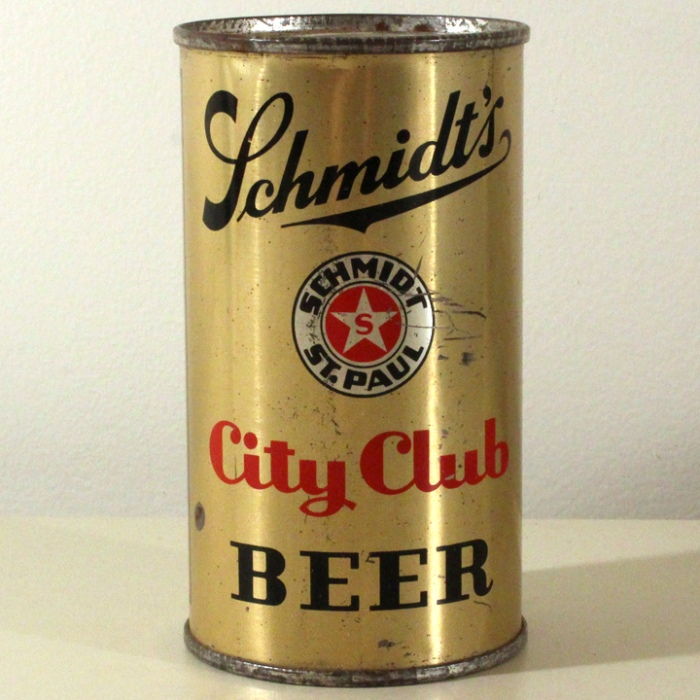 Schmidt's City Club Beer 744 Beer
