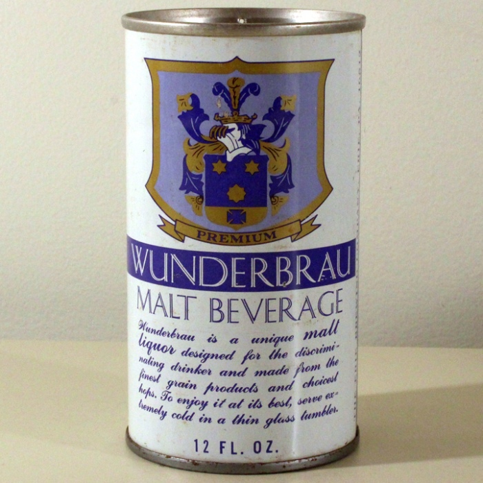 Wunderbrau Malt Beverage 135-30 Beer