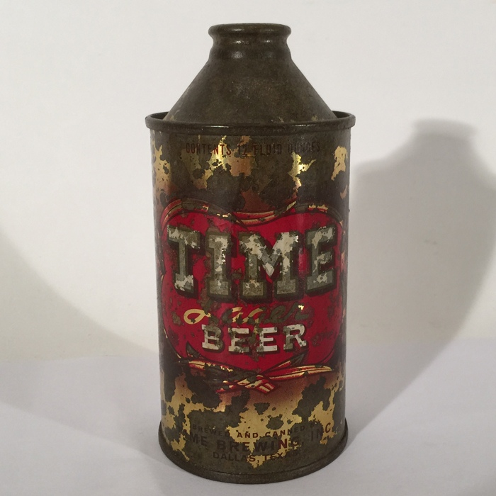 Time Lager Beer Can Beer