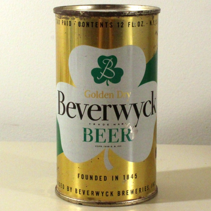 Beverwyck Golden Dry Beer 036-38 Beer